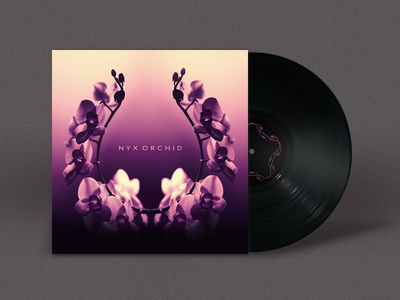 Nyx Orchid album cover music flower bandcamp brazil germany