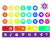 SpaceKids Spot Icons