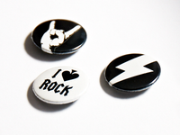 Rocktober Badges