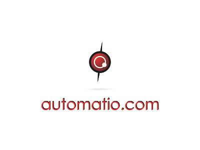 Automatio.com Logo web website icons typography type lettering art vector minimal logo identity icon flat design clean branding brand