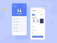 Digital Wallet App - Profile & Transfer