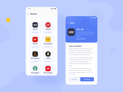 Digital Wallet App - Voucher