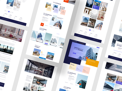 Architecnik - Modern Architecture & Interior Website Template modern interior architecture interior architecture website architecture website templates website template website design webtemplate templates ui kit template agency landingpage website devignedge landing page ui uidesign ui design
