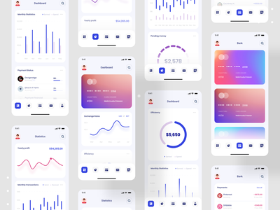 Debank | Bank Dashboard Design | Mobile App devignedge dashboard app banking dashboard dashboad bank app bankingapp mobile mobile app design ui design uidesign ui app mobile app financial app finance business finance app finance banking banking app bank