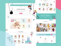 Little Angle - Kids Web Page Design