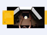 Development Video Landing Page