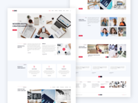 Corporate Creative Agency Website