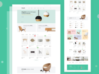 Furniture e-Commerce Website Landing Page Exploration