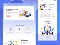 Creative Agency Saas Landing Page