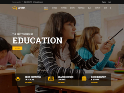 Education WordPress Theme by ThimPress education wordpress theme theme wordpress education