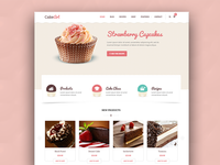 Cake WordPress theme - Cake Art
