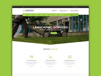 Landscaping Wordpress Theme - Landscaping wp theme theme gardening web design wordpress landscaping