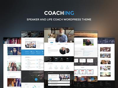 Coach Wordpress Theme lms speaker education coach template wordpress wordpress theme