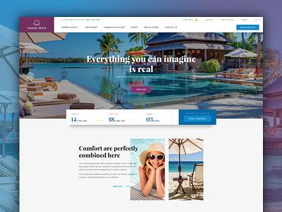 Booking & Hotel WordPress Theme - Hotel WP booking hotel wordpress ux ui