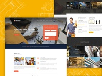 Construction Website Ui | MegaBuilder WordPress Theme