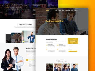 Business Coaching WordPress Theme wordpress theme wordpress templete ui elearning theme courses coaching website