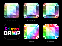 PrismaDROP: Icon Iterations