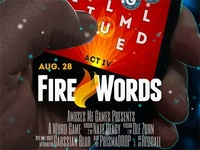 Fire Words Promo Poster