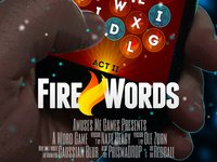 Fire Words Movie Poster 1
