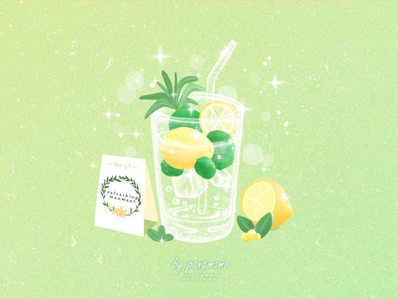 柠檬汽水 drinks
