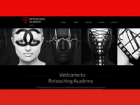 Retouching Academy Homepage