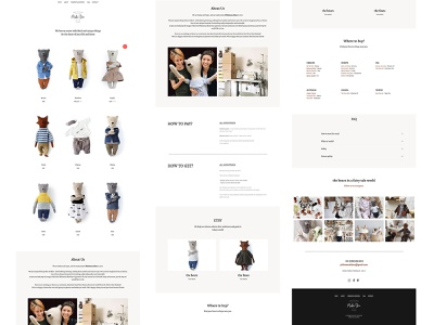 Teddy Bears Landing Page simple clean interface simple design pastel colors pastel stuffed toy toys teddybear modern design clean design landing page