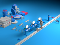 Workloop – 3D Animation