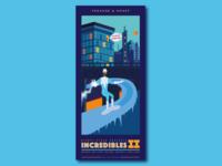 Incredibles 2 Poster Series - No.4