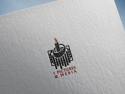 I Pictures & Media branding logo flat logo iconic logo minimalist logo