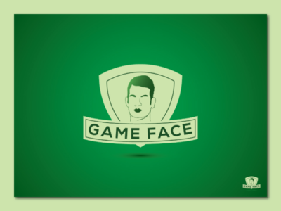 Game Face Logo business logo corporate logo iconic logo minimalist logo flat logo brand logo branding letter logo graphic logo maker gif illustration flatdesign typedesign logomark logo design graphic designer logomaker