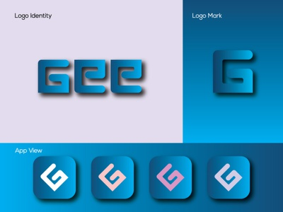 Gee Logo corporate logo logomaker letter logo illustration business logo branding brand logo iconic logo minimalist logo flat logo