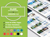 GLAZE - Personal Blog Template
