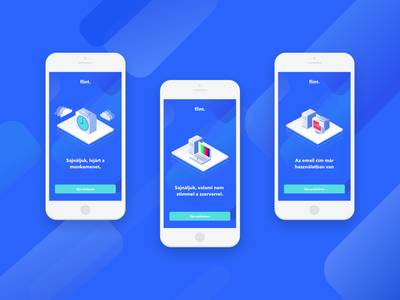 Flint - Error screens iphone ios app design fintech ux error screen ui