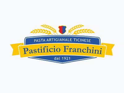 Pastificio Franchini logo design brand design restyling logo identity branding baker
