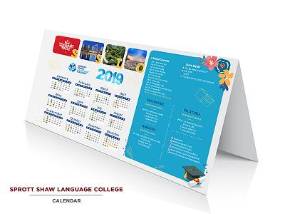 Calendar illustration design