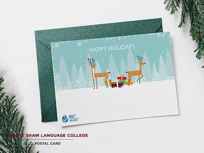 Christmas Card design illustration