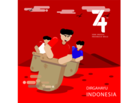 Independence day 74th Indonesia