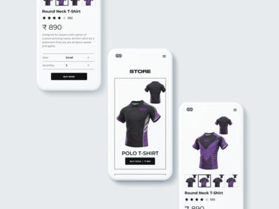Spirit Mobile App - Store app website vector ux ui clean minimal design