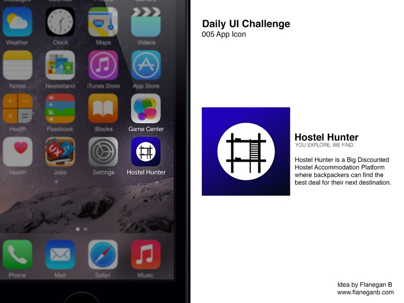 Daily UI Challenge 005 : App Icon