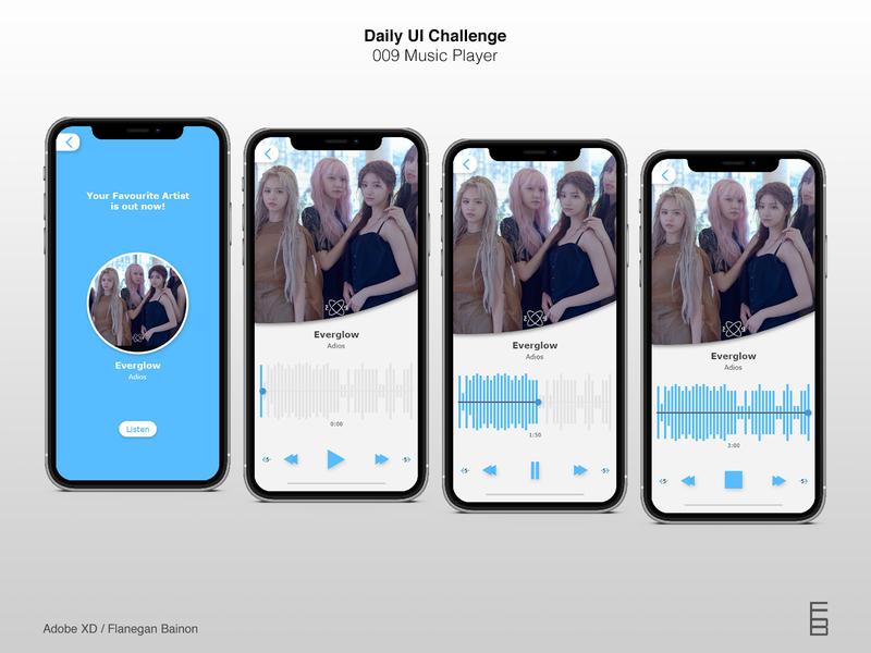 Daily UI Challenge 009 : Music Player