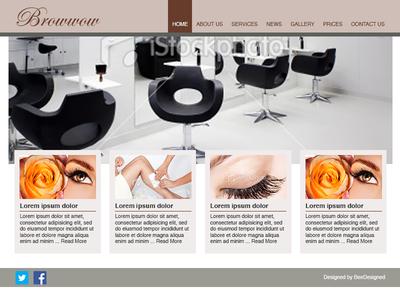 Web Design Concept - Browwow