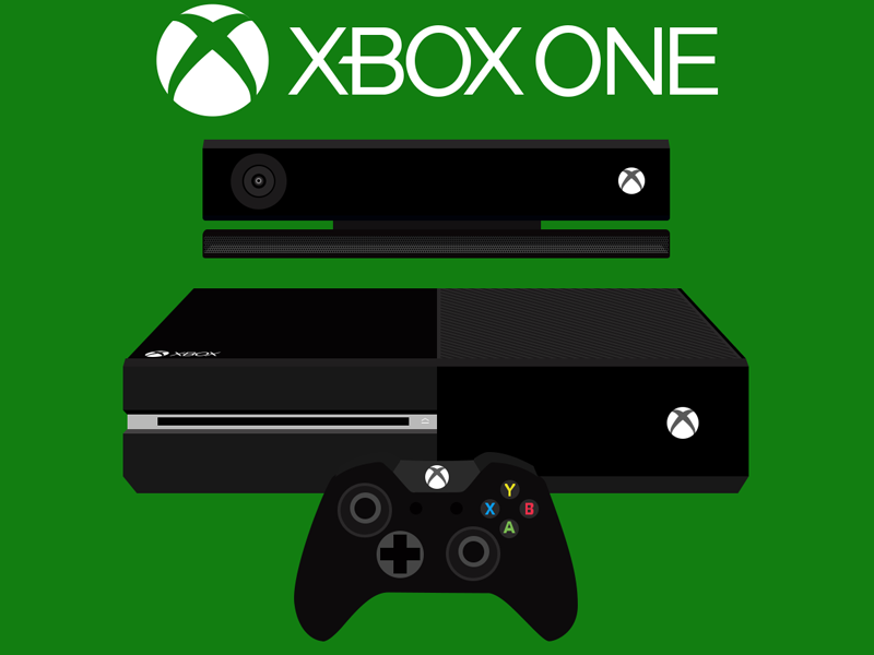 Xbox one console flat design by amar chauhan dribbble