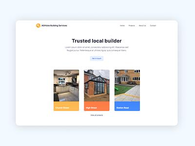 Local building company website construction websites construction company builders