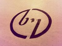 bm - Personal logo WIP