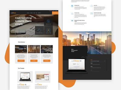 Suretraxx modular product ecommerce branding ui website desktop web web design ui design