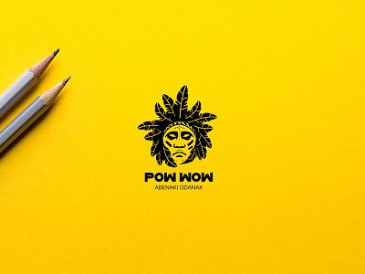 Logo for Native American community black logos american logo design logo