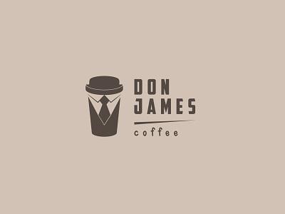 Don James Coffee modern design corporate identity brand identity logos logo design logo branding