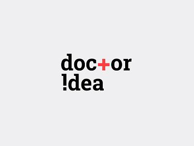 Doctor Idea logodesigns logodesigner typography vector corporate identity logodesign modern design branding brand identity logos logo design logo