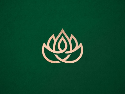 Event Guru logo linear lineart line petals flame fire guru flower lotus branding identity logo