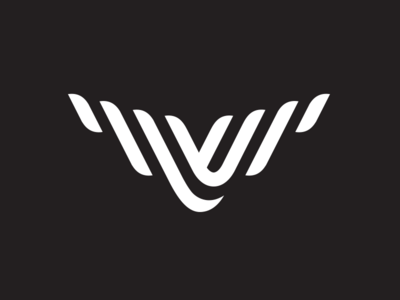 Verne Space logo space v branding identity logo